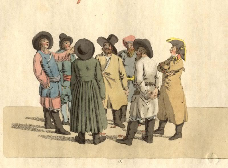 Кристиан Готлиб Генрих Гейслер. Орел или решка. 1805 год.